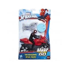 PROM Spider-Man - ścigacz Blast and Go B9995