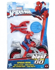 PROM Spider-Man - ścigacz Blast and Go B9994