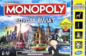 PROM Monopoly B2348 Here amp;Now Edycja Świat