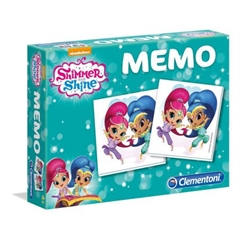 -CLE Memo Shimmer and Shine 18002