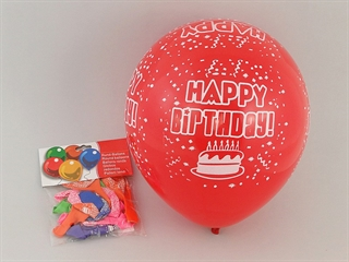 BALONY HAPPY BIRTHDAY OPAK 12 SZT 12/480AD