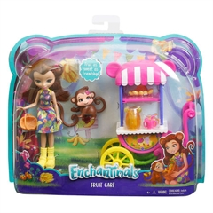 BRB Barbie Enchantimals lalka + pojazd FJH11 /6