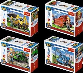 Puzzles -   miniMaxi   - Bob i maszyny / Bob the Builder