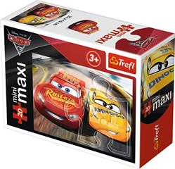 Puzzle -   miniMaxi   - Pierwszy na mecie / Disney Cars 3