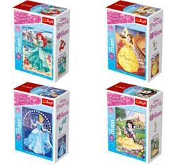 Puzzle -   miniMaxi   - W świecie Kasięzniczek / Disney Princess