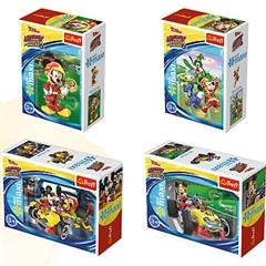 Puzzle -   miniMaxi   - Wyścigi terenowe / Disney Standard Characters