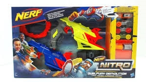 PROM Nerf Nitro DuelFury Demolition C0817