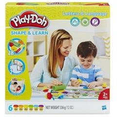 PROM Play-Doh B3407 Literki i mowa HASBRO