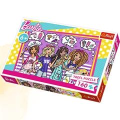 Puzzles -   160   - Bądź marzycielką / Mattel, Barbie