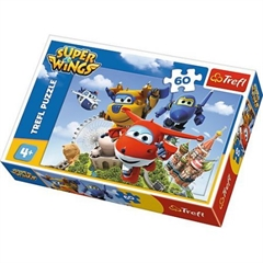 Puzzle -   60   - Lot dookoła świata / CJ E amp;M Super Wings
