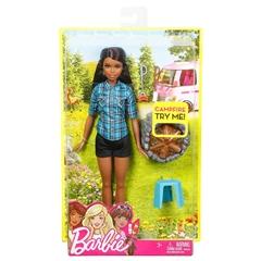 PROM Barbie na biwaku / płonące ogniskoFDB43 /4