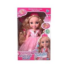 PROM Lalka Natalia księżniczka ze świecącymiwłosami AR
