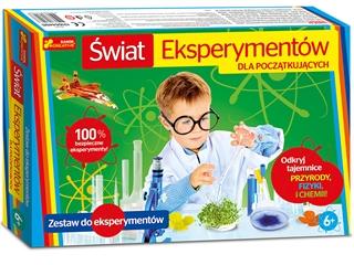 Świat eksperymentów dla początkujących
