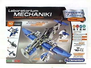 -CLE laboratorium mechaniki- samoloty i helik 60950