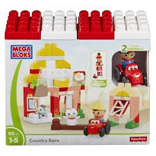 PROM MEGA BLOKS-Farmhouse Friends DPJ57