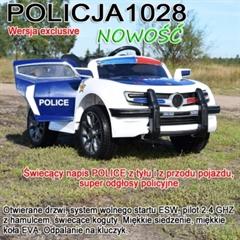 *AUTO NA AK POLICJA HL-1028 BIAŁY