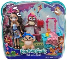 PROM Barbie Enchantimals lalka + zwierzątkaFCC62 /6