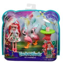 BRB Barbie Enchantimals lalka + zwierzątkaFCC62 /6