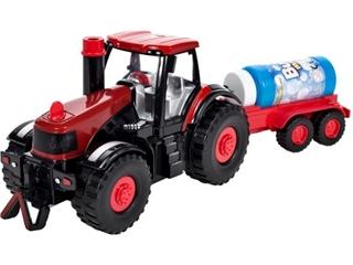 Traktor na bańki z przyczepką MAL