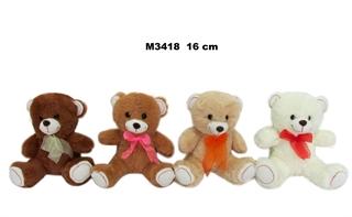 Miś 4kol 16cm M3418 SD