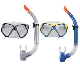 Maska z rurką do nurkowania   Ocean Diver  , szkoło hartowane, 2 kolory w asortymencie, wiek 14+, CS