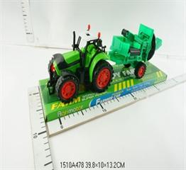 Traktor z kombajnem L1754 CAB
