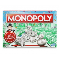 PROM Monopoly Klasyczne C1009 Nowe pionki