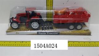 Traktor z przyczepą L974 CAB