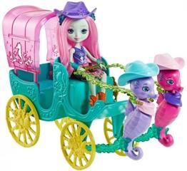 BRB Barbie ENCH Powóz morskich koników+lalka FKV61 /2