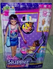 BRB Barbie Opiekunka zestaw + lalki FHY97/4