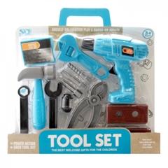 -Zestaw narzędzi z wiertarką 077002 MAD