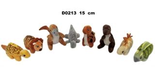 Dino 8asst naturalne 15cm D0213 SD