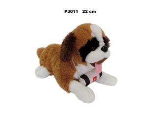 Pies Bernardyn z głosem 22cm P3011 SD