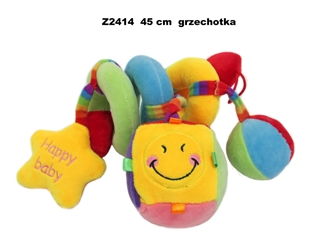 Zabawka grzechotka sprężynka Z2414 SD