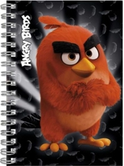 Notes spiralny A6 Angry Birds KW