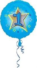 Balon Anagram 18 apos; apos; 1 urodziny niebieski 2953201
