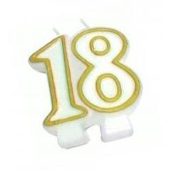 Świeczka Jubileuszowa 18
