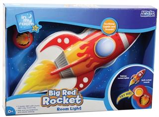 S.CENA Room Light big red rocket