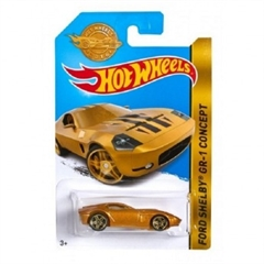 S.CENA HW Hot Wheels auto Ford Shelby złoty5785