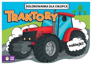 Kolorowanki dla chłopców. Traktory 9788380733145
