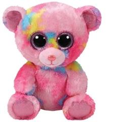 *Beanie Boos kolorowy miś FRANKY, 15 cm - Regular