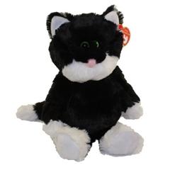 *Attic Treasures czarno-biały kot BESSIE, 15 cm - Regular