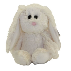 *Attic Treasures biały królik PEARL, 15 cm-Regular