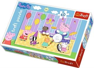 S.CENA Puzzle -   60   - Świnka Peppa na balu/Peppa Pig
