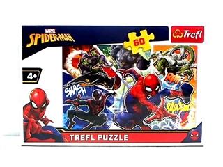 S.CENA Puzzle -   60   - Waleczny Spider-Man/Disney Marvel Spiderman
