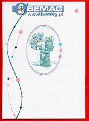 RUS043 KARTKA W DNIU IMIENIN