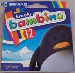 S.CENA Kredki 12k BAMBINO