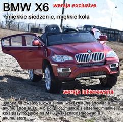 S.CENA BMW X6 NA AK JJ-258 PLASTIK CZERWONE