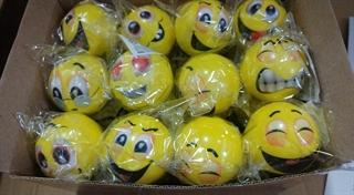 Piłka uśmiech 5cm BPIŁ6188 BIG