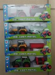 Traktor metal z maszyną BA6462 BIG